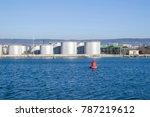 Big Metal Industrial Oil Tanks...