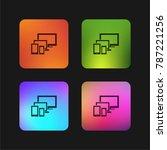 responsive for modern monitors... | Shutterstock .eps vector #787221256