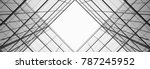 architecture of geometry at... | Shutterstock . vector #787245952