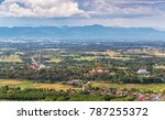 City Scape View Of Phrae...