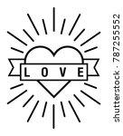 heart vector file | Shutterstock .eps vector #787255552
