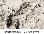 Texture Of Liquid Clay....