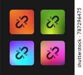link break four color gradient...