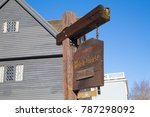 salem  massachusetts   december ... | Shutterstock . vector #787298092
