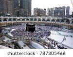 mecca   dec 13   view from... | Shutterstock . vector #787305466