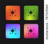 magic four color gradient app... | Shutterstock .eps vector #787319065