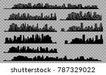 the silhouette of the city in a ... | Shutterstock .eps vector #787329022