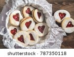 Heart Shaped Cookies With...