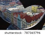 Plzen Old Town View From The...