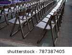 chairs in a row | Shutterstock . vector #787387405