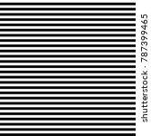 seamless horizontal black and... | Shutterstock .eps vector #787399465
