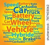 text cloud. car wordcloud....   Shutterstock .eps vector #787403062