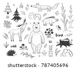 vector collection of fairy... | Shutterstock .eps vector #787405696