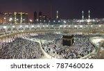 mecca saudi arabia december 22... | Shutterstock . vector #787460026