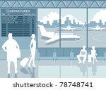 airport | Shutterstock .eps vector #78748741