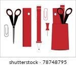 office  education vector | Shutterstock .eps vector #78748795