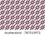 geometrical abstract tiles... | Shutterstock . vector #787513972