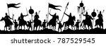 war battle silhouette