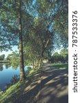 high water level in river gauja ... | Shutterstock . vector #787533376