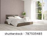 inspiration of white minimalist ... | Shutterstock . vector #787535485