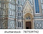 part of the famous church in... | Shutterstock . vector #787539742