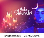 illustration of happy maha... | Shutterstock .eps vector #787570096