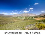 beautiful wide angle view of... | Shutterstock . vector #787571986