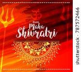 illustration of happy maha... | Shutterstock .eps vector #787572466
