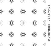 seamless square polar pattern... | Shutterstock .eps vector #787574476