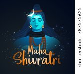 illustration of happy maha... | Shutterstock .eps vector #787575625