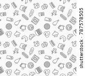 simple fast food vector...   Shutterstock .eps vector #787578505