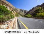 beautiful view of the r324 road ... | Shutterstock . vector #787581622