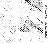 black white texture. grunge...   Shutterstock . vector #787596955
