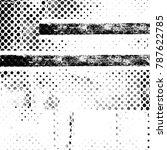 black white texture. grunge... | Shutterstock . vector #787622785