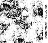 black white texture. grunge... | Shutterstock . vector #787627405
