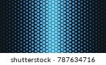 abstract geometric pattern.... | Shutterstock .eps vector #787634716