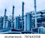 oil and gas industry | Shutterstock . vector #787642558