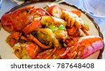 Lobster Cook With X.o. Sauce I...