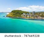 an aerial view of burleigh... | Shutterstock . vector #787669228