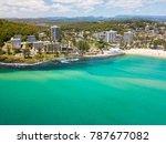 an aerial view of burleigh... | Shutterstock . vector #787677082