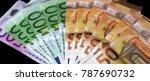 euro bills  euro banknotes  | Shutterstock . vector #787690732