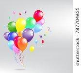 Balloon Set. Vector...