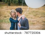 portrait of the young happy... | Shutterstock . vector #787720306