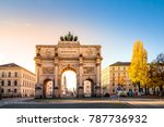 Munich, Siegestor, Germany