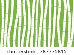 Bamboo. Abstract Pattern....