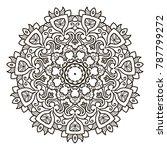 mandala. ethnic decorative...   Shutterstock .eps vector #787799272