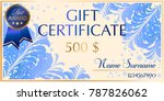 a gift certificate to frosty...