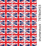 united kingdom flag background | Shutterstock .eps vector #787863415