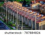 popular housing in brazil | Shutterstock . vector #787884826