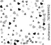 hearts confetti  bright...   Shutterstock .eps vector #787899952